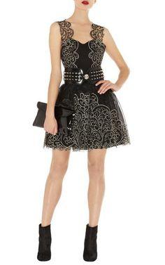 Karen Millen DP163 Baroque Cutwork Lace Tutu Dress Sale