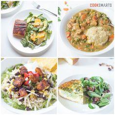 Cook Smarts' Weekly Meal Plan Service | Menu for 10/12/15 via @cooksmarts