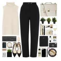 171116 by rosemarykate on Polyvore featuring polyvore fashion style The Row Topshop Jimmy Choo Daniel Wellington Warehouse Alexander McQueen Casetify Hero Christian Dior NARS Cosmetics Aesop Riedel Diptyque Lomography Zippo clothing WorkWear ootd wiwt