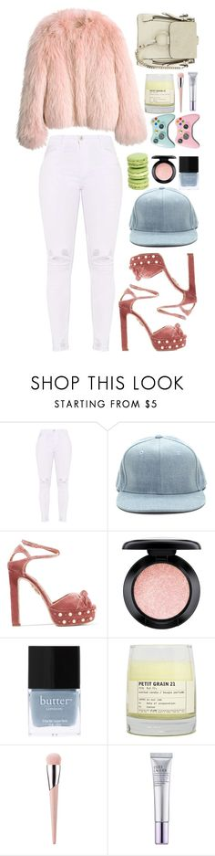 """p o r  f a v o r"" by extemporaneous ❤ liked on Polyvore featuring Balenciaga, Aquazzura, MAC Cosmetics, Butter London, Le Labo, Estée Lauder, Chloé and springs6ksets"