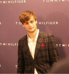 "If actor and model; Douglas Booth can't pull this jacket off, then no one can. In an interview with him he grinned, ""I love the fact that you can wear it really casually in the day and then dress it up in the evening"" ©FranklynLane"