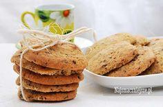 Ciasteczka z czekoladą, ciasteczka, czekolada, http://najsmaczniejsze.pl #food #przepis #ciastka #cookies