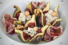 Amanida de figues, formatge i pernil {gustosa...}