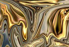 molten gold brocade