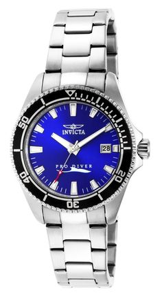 Invicta Women's 15136SYB 'Pro-Diver' Stainless Steel Watch *** You can find more details by visiting the image link.