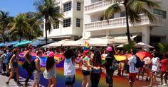 Miami Beach pidió igualdad en el desfile del Orgullo Gay