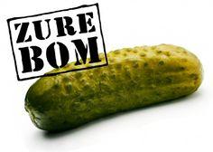grote zure bom, die kon je vroeger nog gewoon bij de patat kraam halen óf op de markt!