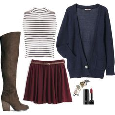 Lydia Martin Inspired Outfit by daniellakresovic on Polyvore featuring WearAll, H&M and Marc