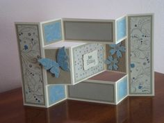 Tri-Fold Shutter Card by alliekatte - Cards and Paper Crafts at Splitcoaststampers