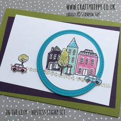 UK Stampin' Up! Demonstrator | make beautiful cards | Crafty Hippy: The 'In the City' stamp set by Stampin' Up!