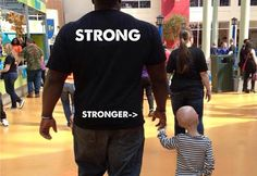It has nothing to do with how much you can lift. http://greatist.com/live/powerlifter-and-girl-with-progeria-show-what-true-strength-is