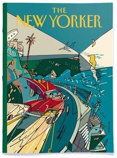Ilustraciones de portada para la revista The New Yorker.
