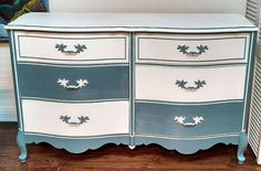 Basset French Provincial Dresser w/ Mirror by StayingVintage, $399.00