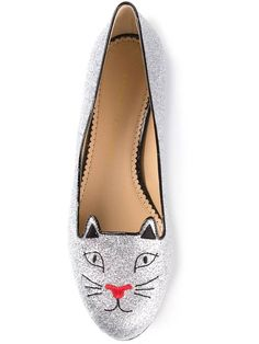 CHARLOTTE OLYMPIA 'Kitty' flats - Shoes Post