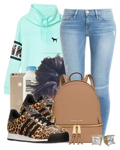 """Untitled #576"" by b-elkstone ❤ liked on Polyvore featuring Victoria's Secret, Frame Denim, adidas, MICHAEL Michael Kors, women's clothing, women, female, woman, misses and juniors"