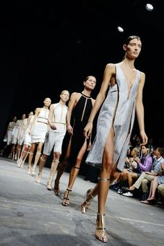 The final walk-through at Alexander Wang, photographed by Nina Westervelt/MCV Photo; from Refinery 29