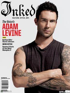 Adam Levine For 'Inked' Magazine