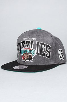 26  Vancouver Grizzlies Mitchell and Ness Snapback Hat on  karmaloop - Use  repcode SMARTCANUCKS 64ed689b8dfc