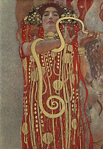 Klimt Painting - Hygieia by Gustav Klimt
