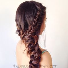 """YAY! Time to start our """"Summer Braid"""" series on thebeautydepartment.com. So excited to kick it off with this one. See the tutorial by clicking on the photo! xo"""