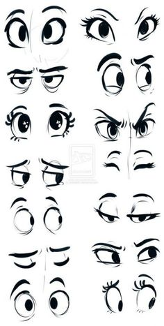 How to draw cartoon eyes? Yes, it is very easy to draw cartoon eyes. The eyes are among the most important features for any cartoon. Drawing Eyes, Drawing Sketches, Painting & Drawing, Sketching, Cartoon Eyes Drawing, Cartoon Sketches, Eye Sketch, Drawing Cartoons, Cartoon Illustrations