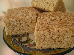 Extra Big and Thick Rice Krispies Treats