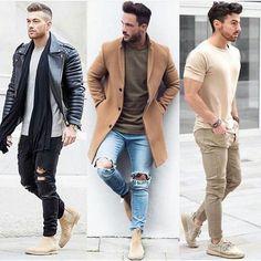 1, 2 ou 3? |@moda.homem | #modamasculina #modaparahomens #men #mens #menstyle #mensfashion #streetfashion #streetstyle #stylish #style #itboy