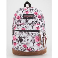 JanSport Right Pack Expressions Backpack ($64) ❤ liked on Polyvore featuring bags, backpacks, knapsack bag, utility bag, jansport backpack, jansport rucksack and rucksack bag