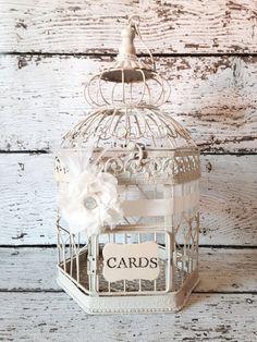 Wedding Birdcage, Country Glam, Birdcage Card Holder, Large Bird Cage, Gatsby Wedding Decor