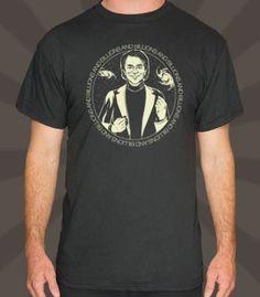 Carl Sagan Billions And Billions T-Shirt