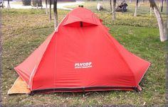 49.90$  Buy here - http://aliab3.worldwells.pw/go.php?t=32384346069 - FlyTop 1-2person high-grade aluminum pole double layer professional  outdoor camping tent  spider 2 49.90$