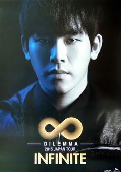 """Dilemma 2015 Japan Tour Official Posters do not edit or crop. do not put own logo cr. Hoya Infinite, Akdong Musician, Nam Woo Hyun, Kim Myung Soo, Hallyu Star, U Kiss, Myungsoo, Tour Posters, Woollim Entertainment"