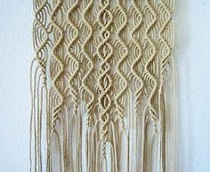 Macrame Wall Hanging Algae Handmade Macrame Home by craft2joy