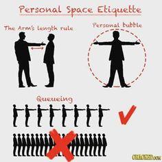Du hast klare Regeln für Deine persönliche Distanzzone. | 21 Dinge, die alle kennen, die nicht gerne von anderen angefasst werden