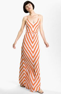 Love the chevron! Even if the color reminds me of orange push-pops. :-P