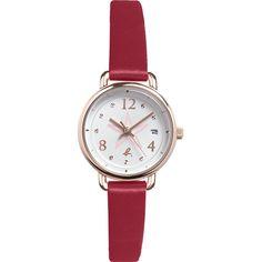 winter 2015-16 - montre blanche/rouge femme  #agnesb #agnesbfemme #ideecadeau #giftideas