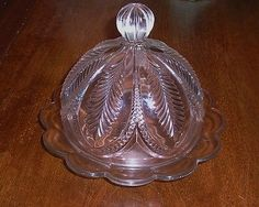 Antique Early American Pattern Pressed Glass Tulip Variant ...