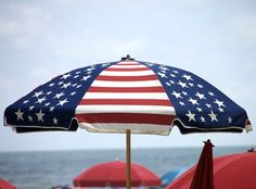 USA patriotic umbrella