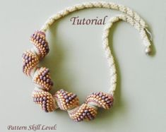 PROJECT SKILL LEVEL: beginner LANGUAGES: English  This is a DIGITAL FILE only. No beads and no finished product are included in this sale.  Downloadable PDF file will be available once payment is confirmed. No refund will be issued after the tutorial has been downloaded.  This tutorial includes detailed step by step instructions with lots of computer diagrams and two photos of the completed project for visual help. Also included are the beads colors, numbers, brands/manufacturers and where I…