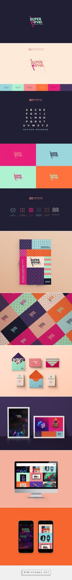 Supernova Design Branding on Behance