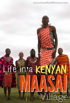Learn about the culture and way of life in a Kenyan Maasai Village. Kenya travel is the most incredible thing I've ever experienced, and the Maasai Tribe were unbelievable welcoming. Diversity is a beautiful thing! Kenya Travel, Africa Travel, Maasai People, Africa Destinations, All I Ever Wanted, East Africa, Kenya Africa, Koh Tao, Culture Travel