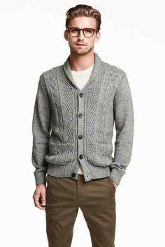 Bavlněný propínací svetr