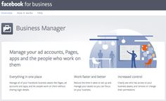 How to Set Up Facebook Business Manager: Why?; Shared logins; Managers; Tasks; Details.