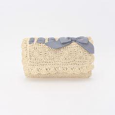 MINIMUM crochet clutch bag