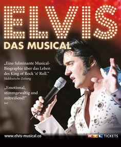 ELVIS - Das Musical - Tickets unter: www.semmel.de