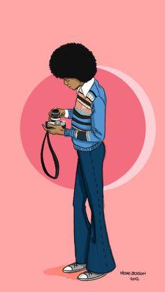 Michael Jackson Holding A Camera.