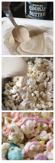 @Pamela Culligan Culligan Culligan Linton     Cookie Butter Popcorn
