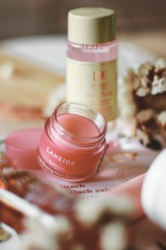Lately, Laneige came up to European Sephoras which is great news. One of my favourite Laneige produc Ulzzang Makeup Tutorial, Dior Lipstick, Couture Makeup, Lip Sleeping Mask, Skin Cream, Mask Cream, Skin Care Spa, Lip Mask, Laneige