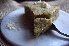 Pund-til-pund kage med citron og blå birkes - Cathrine Brandt Muffin, Sweets, Baking, Breakfast, Food, Lemon, Morning Coffee, Good Stocking Stuffers, Candy