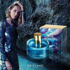 Nueva fragancia Blue Wonders.. By Oriflame Cosmetics